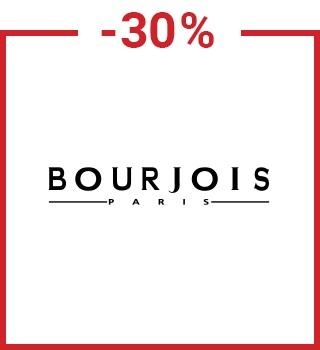 -30% σε προϊόντα Bourjois με τον κωδικό spring30gr με αγορές άνω των 12€