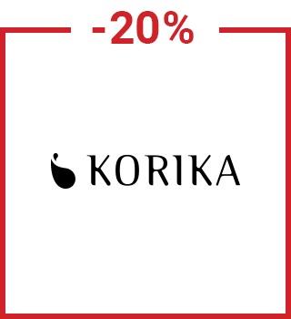 -20% σε προϊόντα Korika με τον κωδικό spring20gr