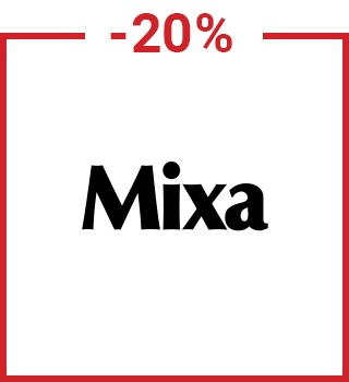20% discount Mixa with a promo code spring20gb