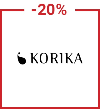 20% discount Korika with a promo code spring20gb