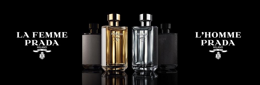 Découvrez les parfums Prada L'Homme et La Femme