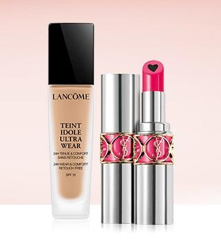 Make-up zum Valentinstag