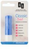 AA Cosmetics Lip Care  Classic ochranný balzam na pery 5 v 1