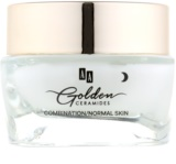AA Cosmetics Golden Ceramides intensive glättende Nachtcreme