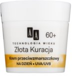 AA Cosmetics Age Technology Golden Therapy Tagescreme gegen Falten 60+