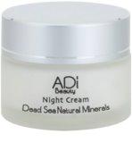 Adi Beauty Facial Care Dead Sea noční krém proti předčasnému stárnutí pleti s minerály