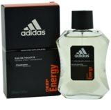 Adidas Deep Energy Eau de Toilette para homens 100 ml