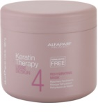 Alfaparf Milano Lisse Design Keratin Therapy maseczka przywracająca nawilżenie do wszystkich rodzajów włosów