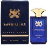 Alfred Verne Sapphire Isle Eau de Parfum para homens 80 ml