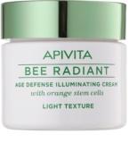 Apivita Bee Radiant crema rejuvenecedora textura ligera para iluminar la piel