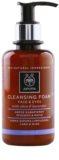 Apivita Cleansing Olive & Lavender espuma limpiadora para rostro y ojos