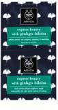 Apivita Express Beauty Ginkgo Biloba mascarilla antiojeras y antibolsas