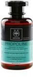 Apivita Propoline Nettle & Honey šampon pro mastnou vlasovou pokožku a suché konečky