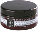 Apivita Pure Jasmine fürdősó esszenciális olajokkal