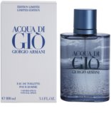 Armani Acqua Di Gio Pour Homme Blue Edition Summer Eau de Toilette para homens 100 ml
