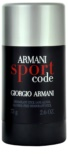 Armani Code Sport Deodorant Stick for Men 75 ml
