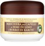 Athena's l'Erboristica máscara com óleo de linho para cabelo seco a danificado