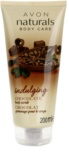 Avon Naturals Body exfoliante corporal con chocolate