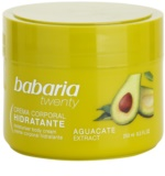 Babaria Twenty creme corporal com abacate