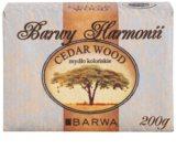 Barwa Harmony Cedar Wood твърд сапун с хидратиращ ефект