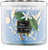 Bath & Body Works Blue Sandalwood & Sage vonná sviečka 411 g
