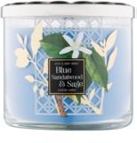 Bath & Body Works Blue Sandalwood & Sage illatos gyertya  411 g