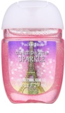 Bath & Body Works PocketBac Champagne Sparkle Antibacterial Hand Gel