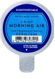 Bath & Body Works Crisp Morning Air ambientador auto 6 ml recarga de substituição
