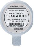 Bath & Body Works Mahogany Teakwood parfum pentru masina 6 ml Refil