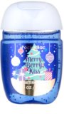 Bath & Body Works PocketBac Merry Berry Kiss antibakterielles Gel für die Hände