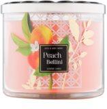 Bath & Body Works Peach Bellini dišeča sveča  411 g