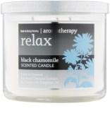 Bath & Body Works Relax Black Chamomile ароматна свещ  411 гр.