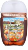 Bath & Body Works PocketBac Sweet Cinnamon Pumpkin gel  antibacteriano para as mãos