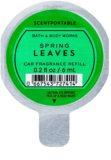 Bath & Body Works Spring Leaves Autoduft 6 ml Ersatzfüllung