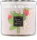 Bath & Body Works Strawberry Mimosa Duftkerze  411 g