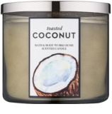 Bath & Body Works Toasted Coconut vonná sviečka 411 g