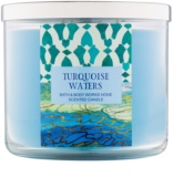 Bath & Body Works Turquoise Waters Duftkerze  411 g