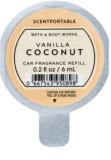 Bath & Body Works Vanilla Coconut Autoduft 6 ml Ersatzfüllung