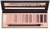 BelláPierre XII Go Natural paleta de sombras de ojos con espejo y aplicador