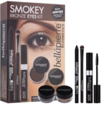 BelláPierre Smokey Bronze Eyes Kit set cosmetice I.