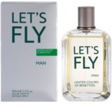Benetton Let's Fly Eau de Toilette for Men 100 ml