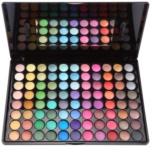 BHcosmetics 88 Color Shimmer paleta cieni do powiek z lusterkiem i aplikatorem