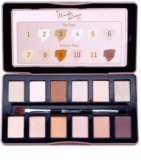 BHcosmetics Nude Rose Eye Shadow Palette With Applicator
