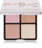 BHcosmetics Nude Rose Highlight Palette mit Aufhellern