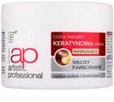 Bielenda Artisti Professional Color Keratin máscara hidratante para cabelo pintado