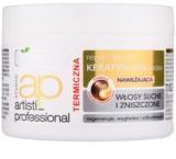 Bielenda Artisti Professional Repair Keratin Regenerating And Moisturizing Mask for Dry and Damaged Hair