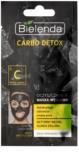 Bielenda Carbo Detox máscara de limpeza com carvão para pele mista e oleosa