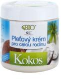 Bione Cosmetics Coconut creme de rosto familiar com coco