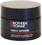 Biotherm Homme Force Supreme розгладжуючий  денний  крем для регенерації та відновлення шкіри