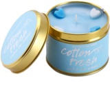 Bomb Cosmetics Cottom Fresh vela perfumada